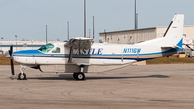 A picture of N1116W - Cessna 208B Grand Caravan - Castle Aviation - © Leige Yang