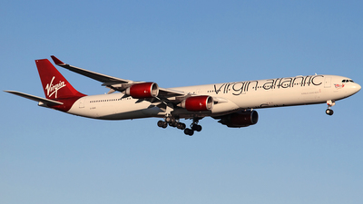 G-VGAS - Airbus A340-642 - Virgin Atlantic Airways