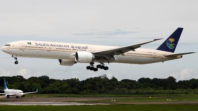 HZ-AK15 - Boeing 777-368ER - Saudi Arabian Airlines