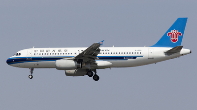 A picture of B1690 - Airbus A320232 - China Southern Airlines - © StephenLian-NGB