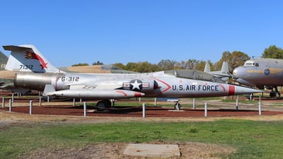 57-1312 - Lockheed F-104D Starfighter - United States - US Air Force (USAF)