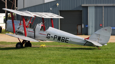 G-PWBE - De Havilland DH-82A Tiger Moth - Aero Legends
