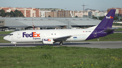OE-IBW - Boeing 737-4Q8(SF) - FedEx (ASL Airlines)