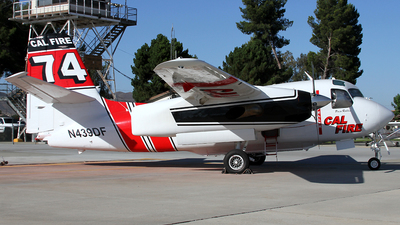 N439DF - Grumman S-2F3AT Turbo Tracker - United States - California Department of Forestry