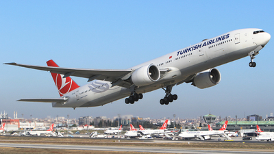 TC-JJI - Boeing 777-3F2ER - Turkish Airlines