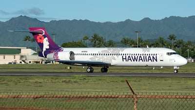 N491HA - Boeing 717-2BL - Hawaiian Airlines