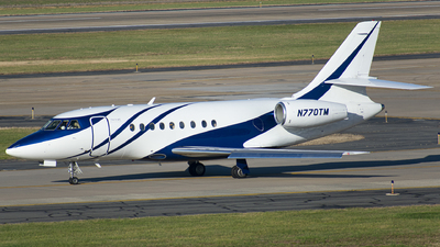 N770TM - Dassault Falcon 2000 - Private