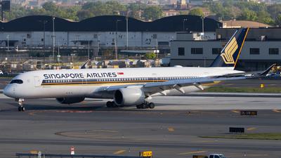 9V-SGA - Airbus A350-941 - Singapore Airlines