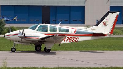 A picture of N478SC - Beech 95B55 Baron - [TC2190] - © Jeremy D. Dando