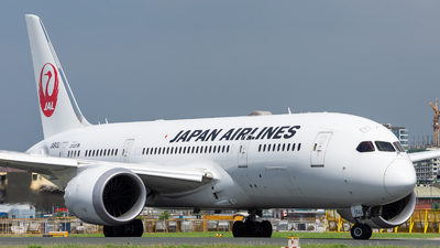 JA843J - Boeing 787-8 Dreamliner - Japan Airlines (JAL)