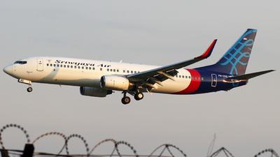 PK-CRE - Boeing 737-86N - Sriwijaya Air
