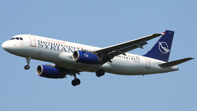 YK-AKE - Airbus A320-233 - Syrianair - Syrian Arab Airlines