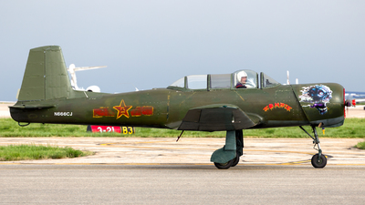 N666CJ - Nanchang CJ-6 - Private