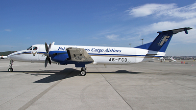 A6-FCD - Beech 1900C-1 - Falcon Cargo