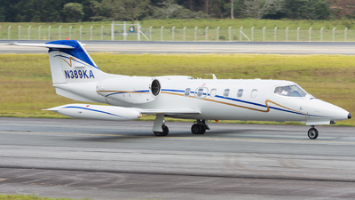 N389KA - Bombardier Learjet 35A - Private