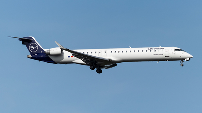 A picture of DACNW - Mitsubishi CRJ900LR - Lufthansa - © Marco Materlik