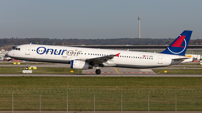 TC-OEC - Airbus A321-231 - Onur Air