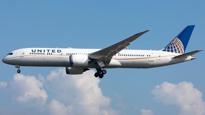 N35953 - Boeing 787-9 Dreamliner - United Airlines