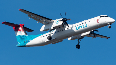 LX-LQJ - Bombardier Dash 8-Q402 - Luxair - Luxembourg Airlines