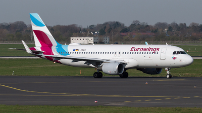 A picture of DAEWJ - Airbus A320214 - Eurowings - © Tjorve. Henzler