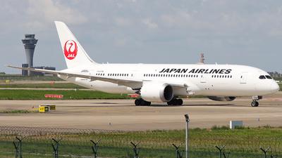 JA828J - Boeing 787-8 Dreamliner - Japan Airlines (JAL)