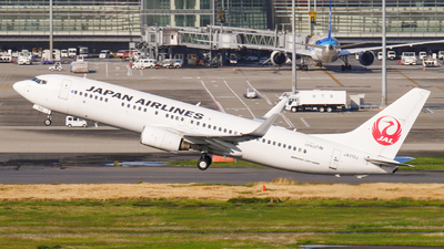 A picture of JA312J - Boeing 737846 - Japan Airlines - © Haneda Spotter