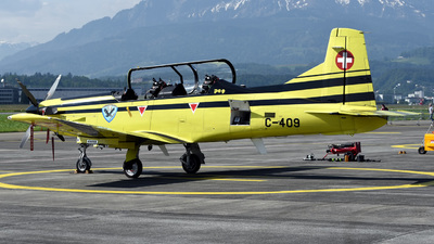 C-409 - Pilatus PC-9 - Switzerland - Air Force