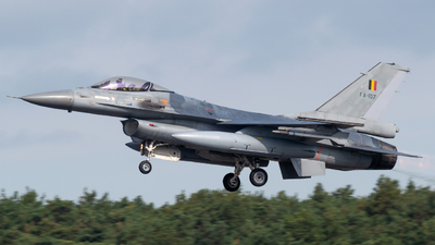 FA-107 - General Dynamics F-16AM Fighting Falcon - Belgium - Air Force