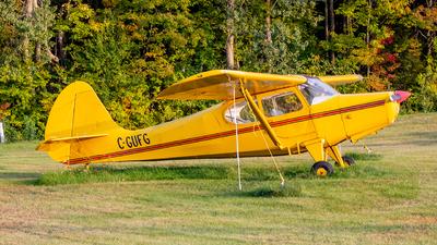 C-GUFG - Aeronca 15AC Sedan - Private