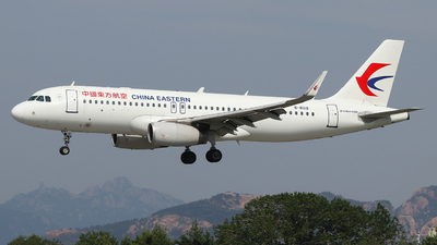 A picture of B8018 - Airbus A320232 - China Eastern Airlines - © SEN BAI