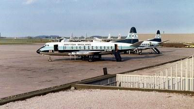 G-AZNB - Vickers Viscount 813 - British Midland