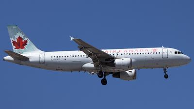 A picture of CFNVV - Airbus A320211 - Air Canada - © Sean Brink