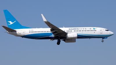 A picture of B7179 - Boeing 73785C - Xiamen Air - © XPHNGB
