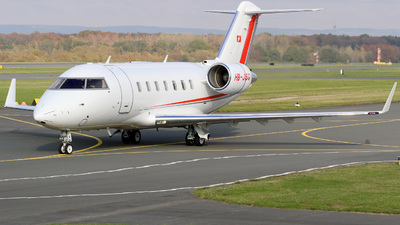 HB-JSG - Bombardier CL-600-2B16 Challenger 605 - Private