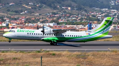 A picture of ECNDD - ATR 72600 - Binter Canarias - © Manuel EstevezR
