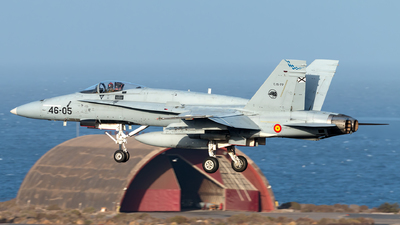 C.15-77 - McDonnell Douglas F/A-18A Hornet - Spain - Air Force