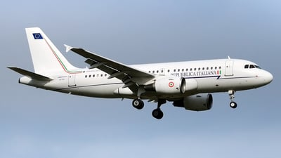 MM62209 - Airbus A319-115X(CJ) - Italy - Government