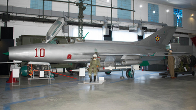 10 - Mikoyan-Gurevich MiG-21F-13 Fishbed C - Romania - Air Force