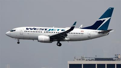 A picture of CGTWS - Boeing 73776N - WestJet - © Stian Haabeth