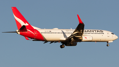 A picture of VHVYF - Boeing 737838 - Qantas - © Will T
