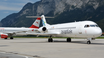 D-AOLH - Fokker 100 - Avanti Air