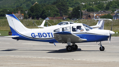G-BOTI - Piper PA-28-151 Cherokee Warrior - Private