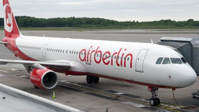 D-ABCK - Airbus A321-211 - Air Berlin