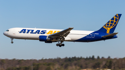 A picture of N662GT - Boeing 76731A(ER) - Atlas Air - © Severin Hackenberger