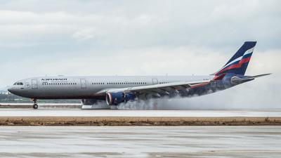 VQ-BCV - Airbus A330-343 - Aeroflot