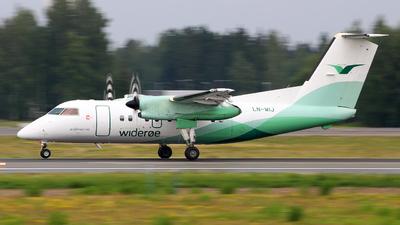 A picture of LNWIJ - De Havilland Canada Dash 8100 - Wideroe - © Wiktor Konrad Kepinski