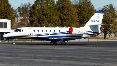 A picture of N224JV - Cessna 680 Citation Sovereign - [6800541] - © Oliver Richter