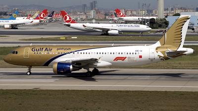 A9C-AI - Airbus A320-214 - Gulf Air
