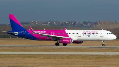 HA-LXU - Airbus A321-231 - Wizz Air
