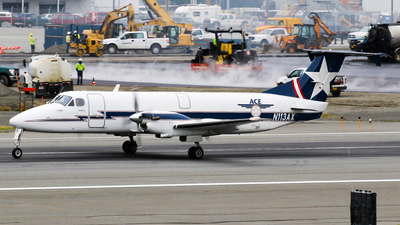 A picture of N113AX - Beech 1900C - Alaska Central Express - © C. v. Grinsven